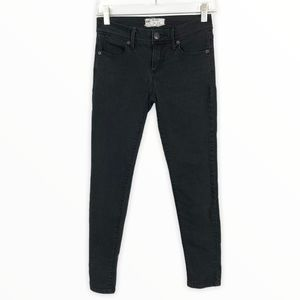 Free People Skinny Jeans 24 Charcoal Stretch